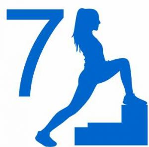 7 minutes workout logo